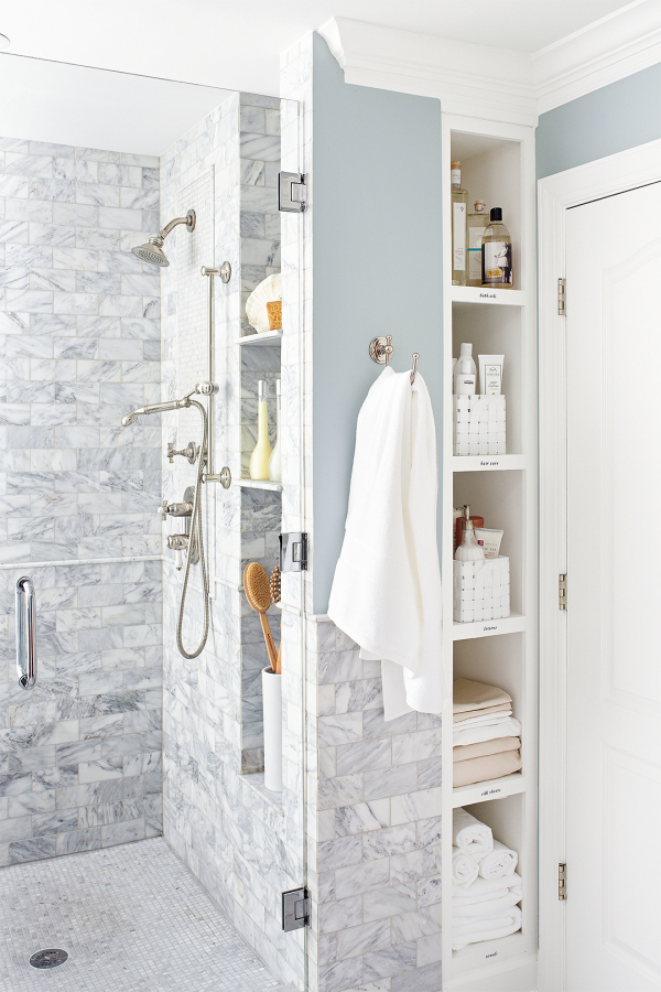 18 Absolutely Stunning Walk-In Showers For Small Baths with 101+ Bathroom Design...