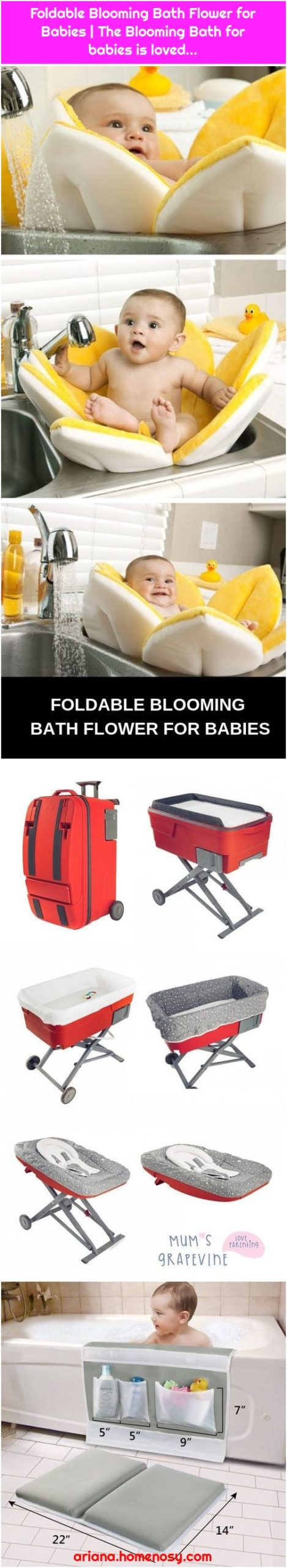 Foldable Blooming Bath Flower for Babies | The Blooming Bath for babies is loved...