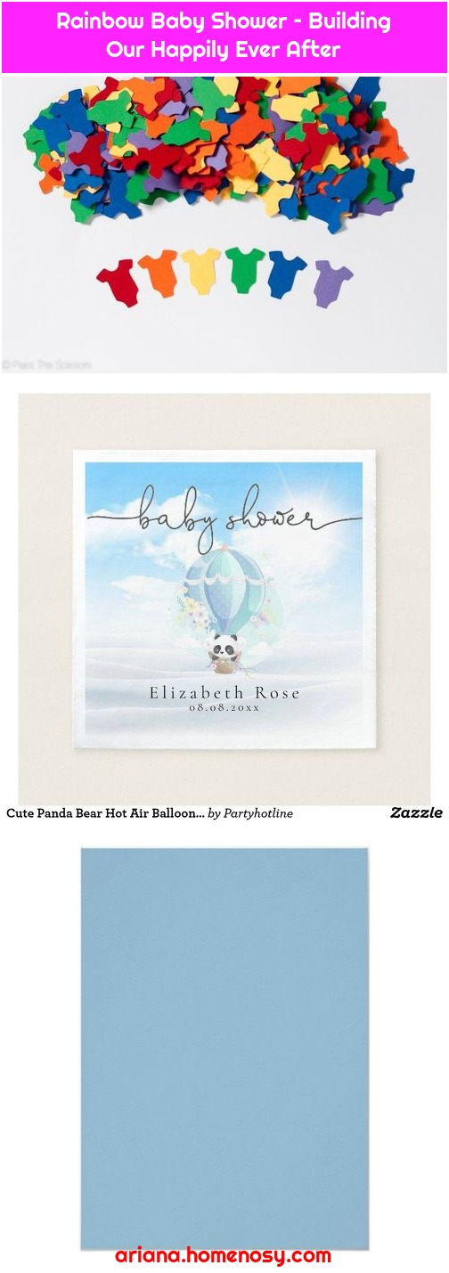 Rainbow Baby Shower – Building Our Happily Ever After