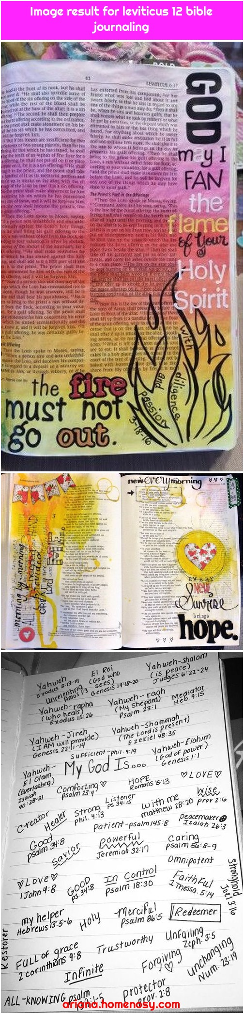 Image result for leviticus 12 bible journaling