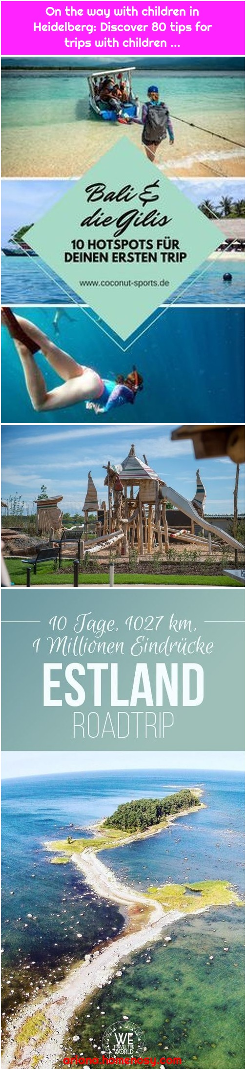 On the way with children in Heidelberg: Discover 80 tips for trips with children ...
