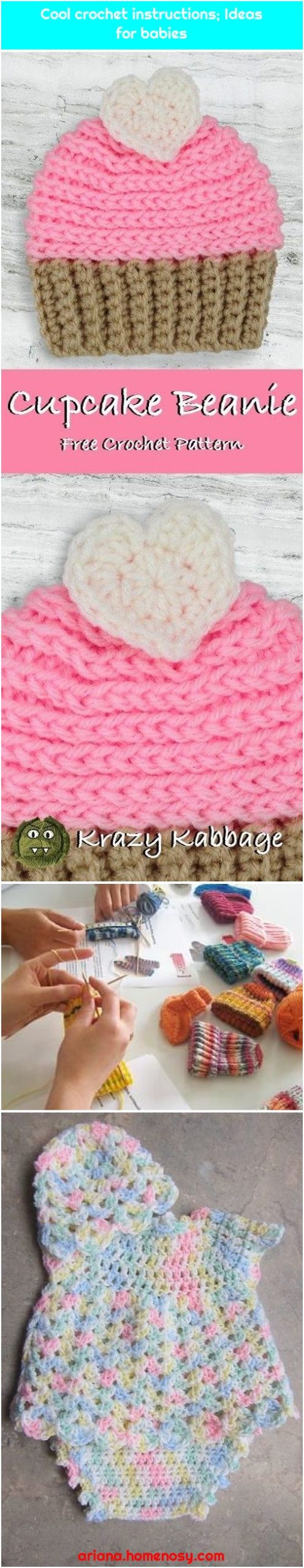 Cool crochet instructions; Ideas for babies