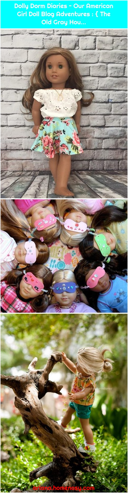 Dolly Dorm Diaries ~ Our American Girl Doll Blog Adventures : { The Old Gray Hou...