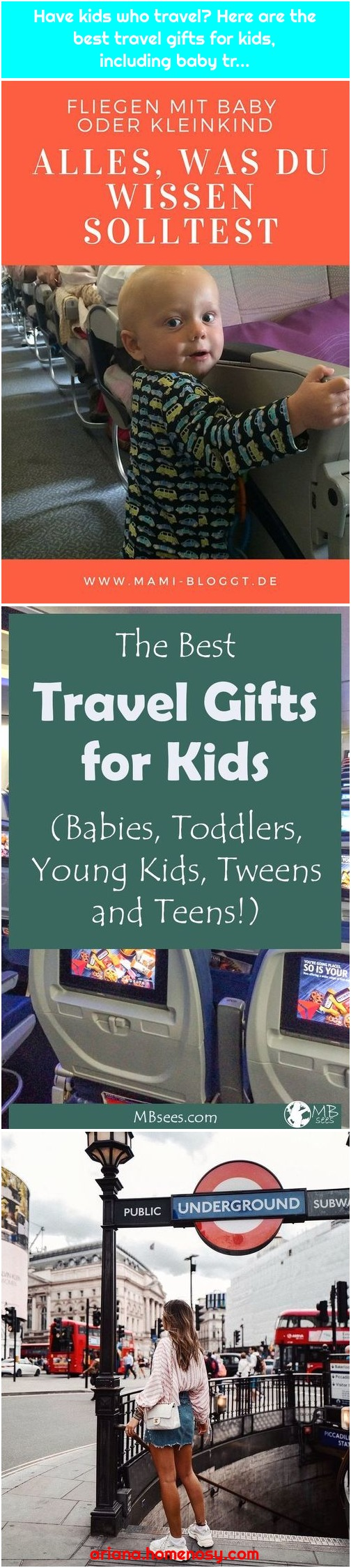 Have kids who travel? Here are the best travel gifts for kids, including baby tr...
