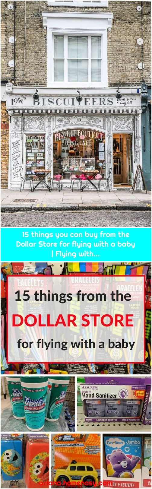 15 things you can buy from the Dollar Store for flying with a baby | Flying with...