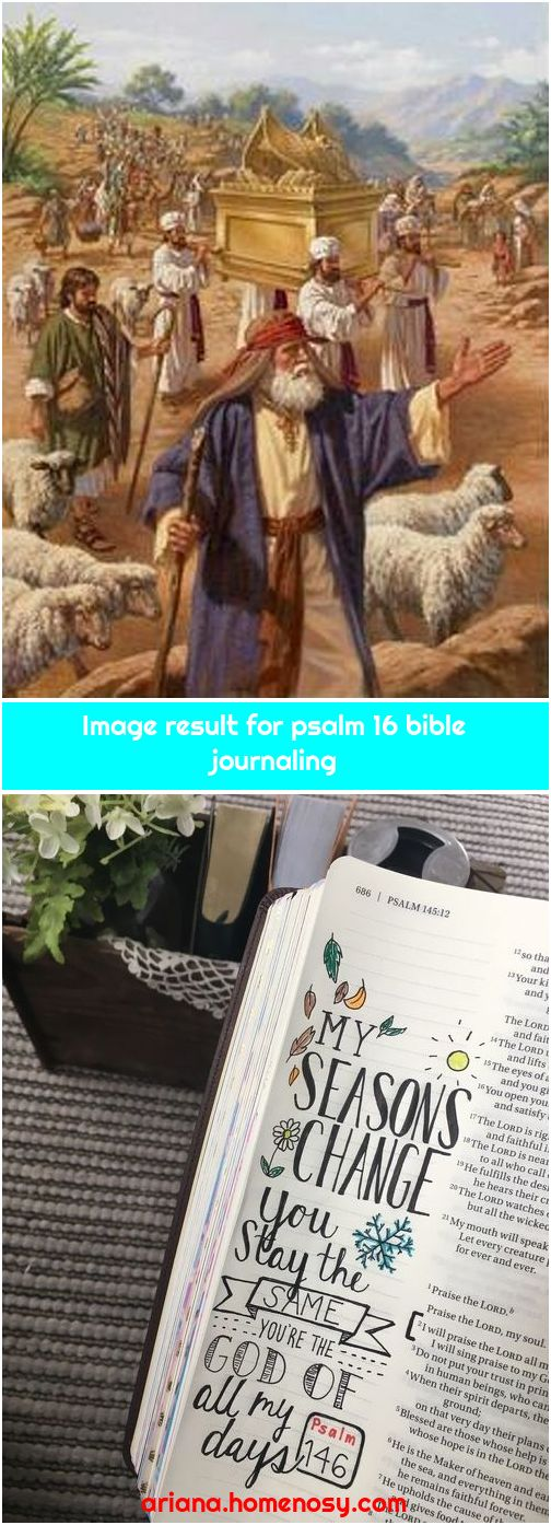 Image result for psalm 16 bible journaling