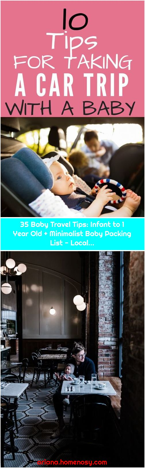 35 Baby Travel Tips: Infant to 1 Year Old + Minimalist Baby Packing List - Local...
