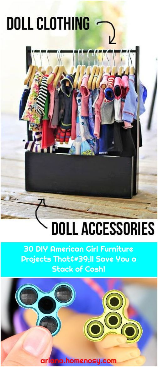 30 DIY American Girl Furniture Projects That'll Save You a Stack of Cash!