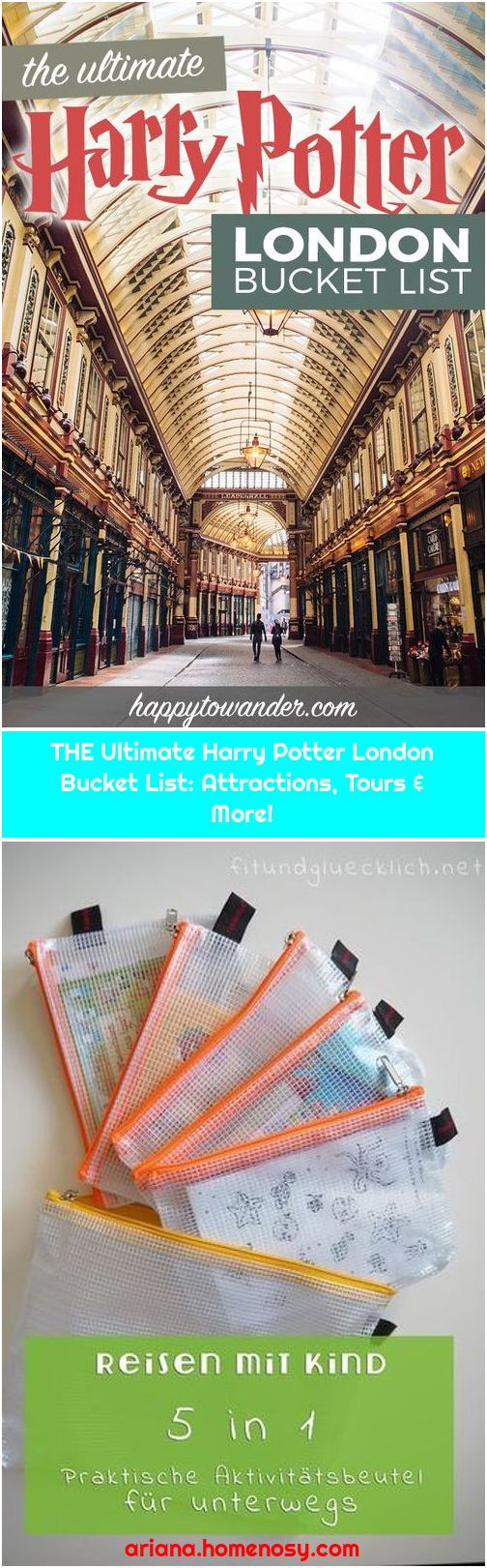 THE Ultimate Harry Potter London Bucket List: Attractions, Tours & More!