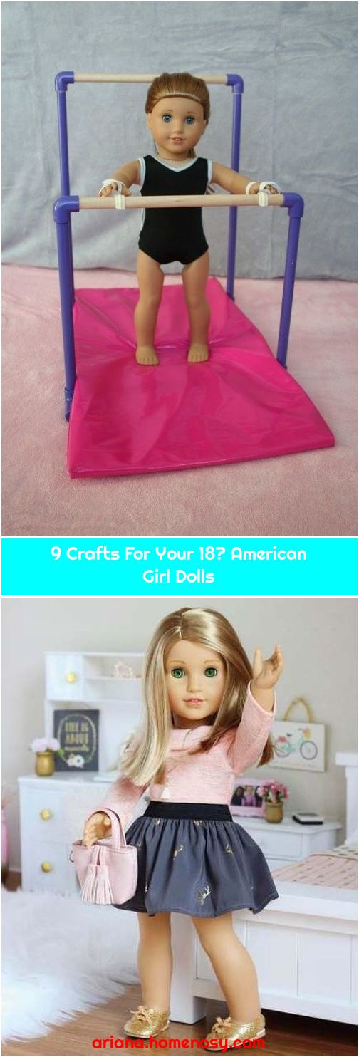 9 Crafts For Your 18″ American Girl Dolls
