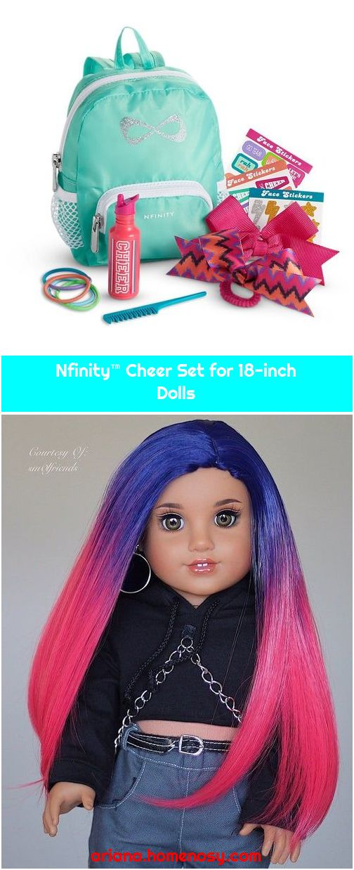 Nfinity™ Cheer Set for 18-inch Dolls