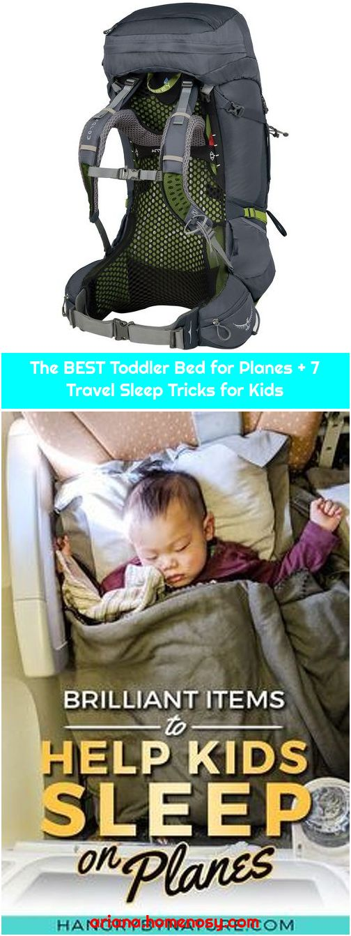 The BEST Toddler Bed for Planes + 7 Travel Sleep Tricks for Kids