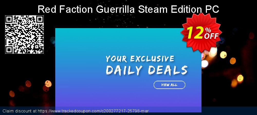 [12% OFF] Red Faction Guerrilla Steam Edition PC Deal on Natl. Doctors' Day super sale, March 2020