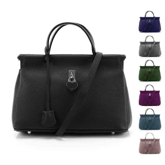 OBC Made in Italy DAMEN Business LEDER TASCHE Doctor Style