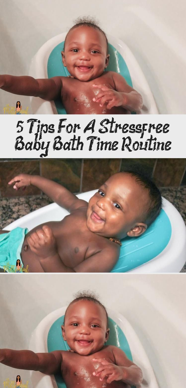Mom advice: Bath time with baby can be stressful, but it certainly doesn't have ...
