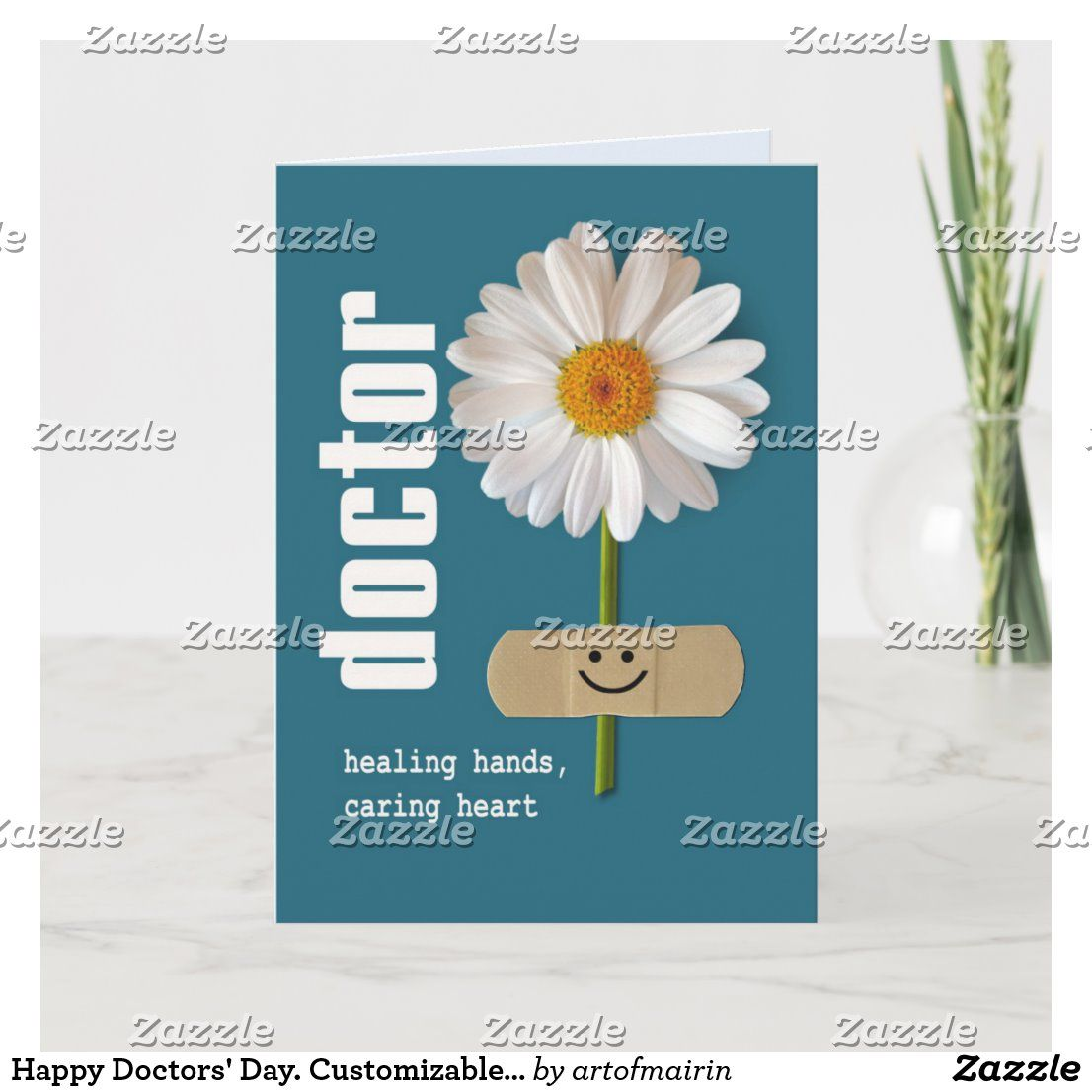 Happy Doctors' Day. Customizable Greeting Cards | Zazzle.com