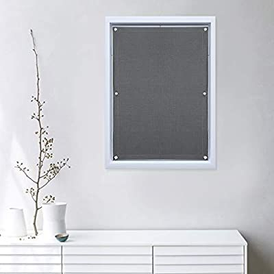 Oxdigi Blackout Blinds Window Cover with Suction Cups for Travel Baby Nursery Skylight Shade Bedroom Car RV Door Temporary Portable Curtain Thermal Insulated Blocking 100% Light 18.9 x 36.6 inches
