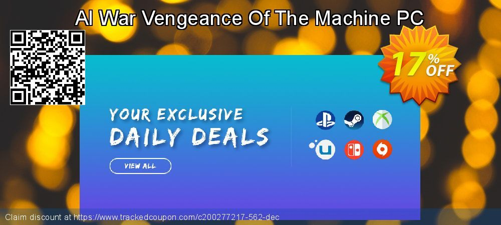 [18% OFF] AI War Vengeance Of The Machine PC Deal on Natl. Doctors' Day super sale, March 2020