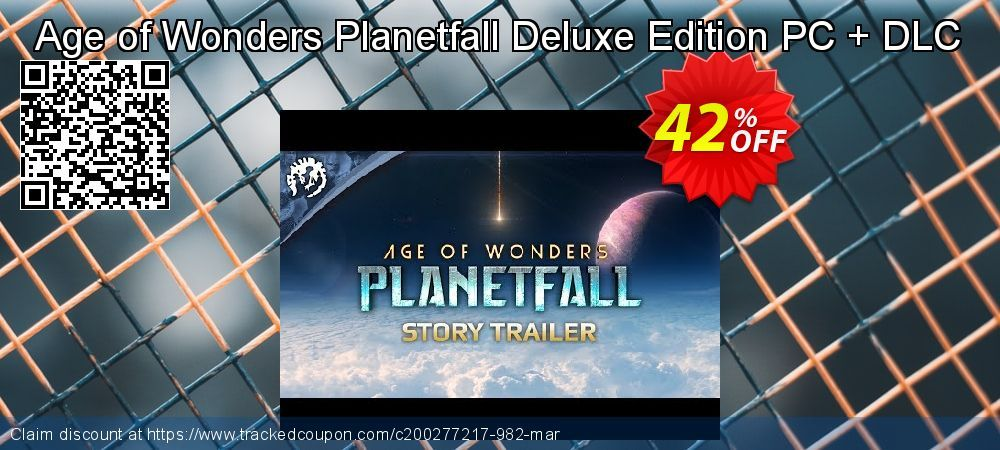 [42% OFF] Age of Wonders Planetfall Deluxe Edition PC + DLC Deal on Natl. Doctors' Day discount, March 2020