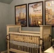 59 ideas for baby boy nursery room ideas themes vintage airplanes#airplanes #bab...
