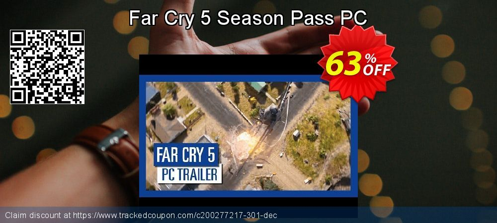 [63% OFF] Far Cry 5 Season Pass PC Deal on Natl. Doctors' Day super sale, March 2020