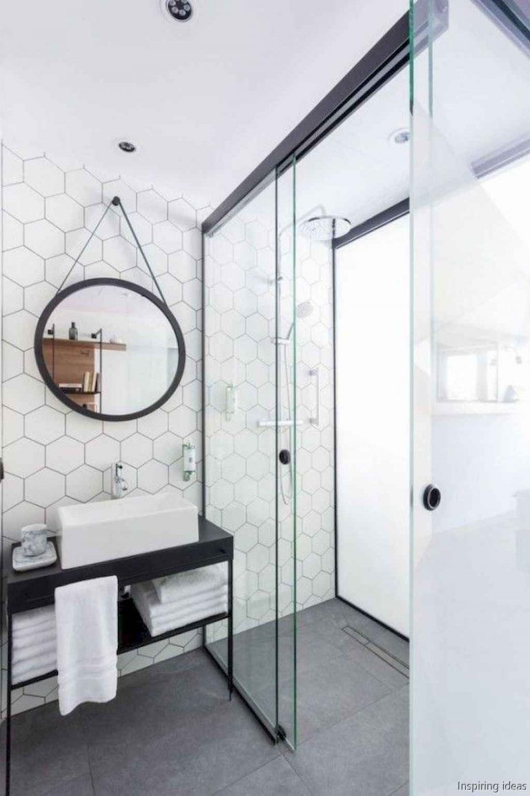 70+ Plain Curbless Shower Ideas for Your House - Page 40 of 73