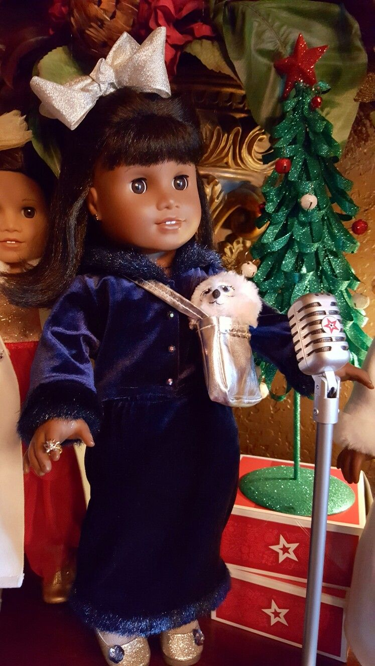 AMERICAN GIRL DOLL MELODY SAYS TO LIFT YOUR VOICE FOR GOOD. @@AGOFFICIAL