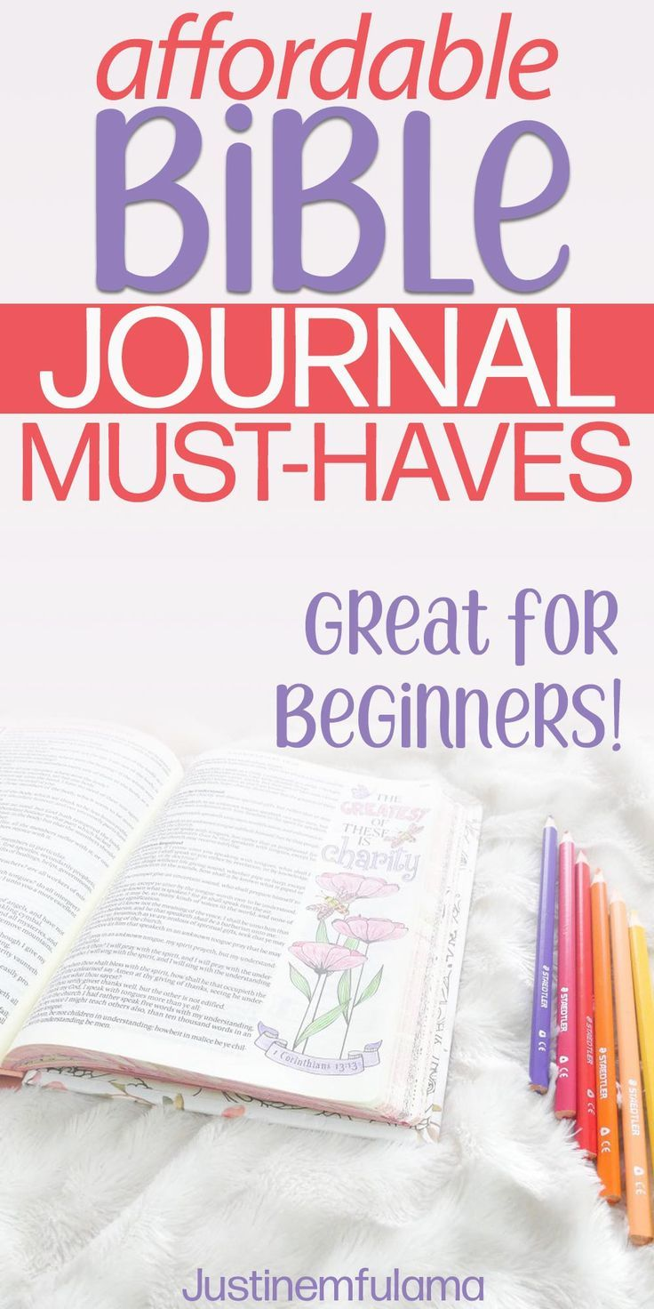 Affordable Bible Journaling Supplies For Beginners