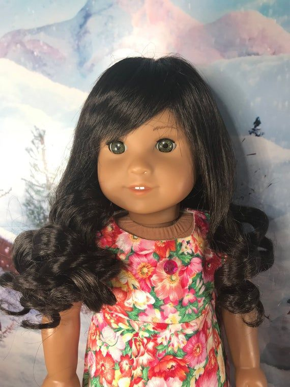 """African American """"Jenny"""" Melody Dark Skin Replacement Wig fo...-African American..."""