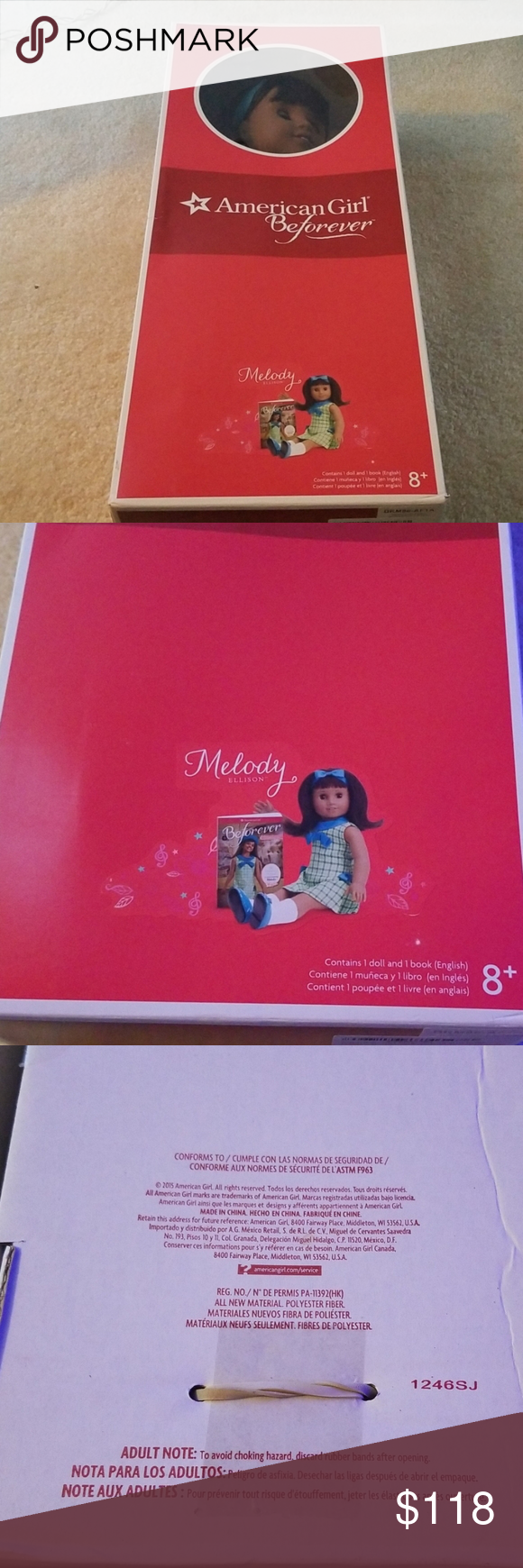 American Girl Doll American Girl Be Forever Doll Melody Ellison Contains 1 doll ...