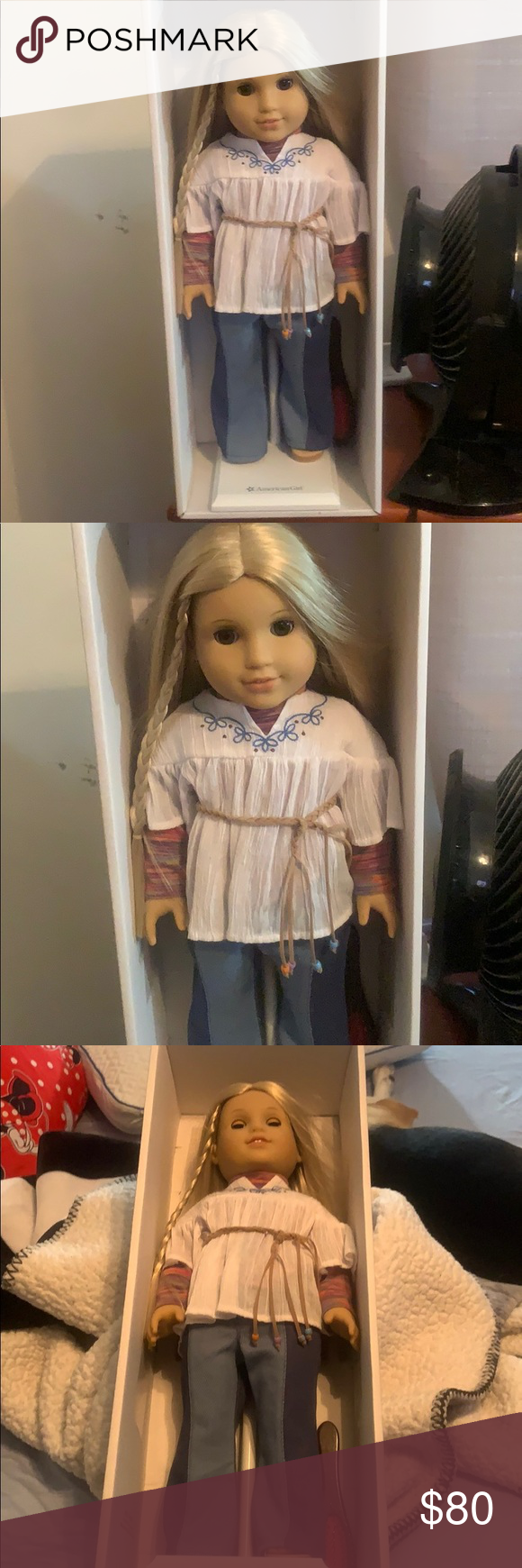 American girl doll Julie American girl doll never been taken out of the box just...