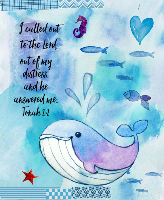 Bible Journaling Digitally Page Watercolor Ocean Kit or Digital Scrapbook Kit 4 papers and 40 elements png and jpg files