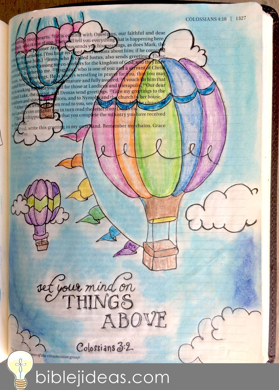 Bible Journaling Ideas: A Look At My Bible Doodles This might be one of the toug...