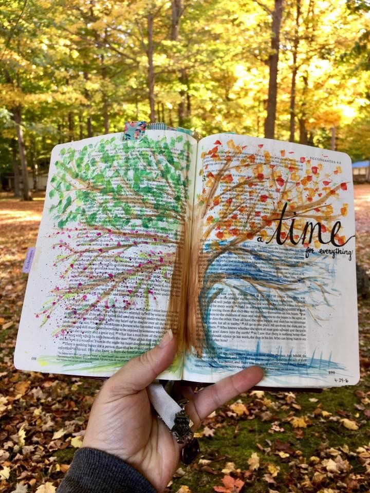 Bible Journaling: Patience vs. Waiting (Ecclesiastes 3:1-8) - Sojourner Mom