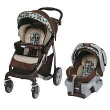 Graco Stylus Travel System with SnugRide Classic Connect 30 Infant Car Seat - Mo...