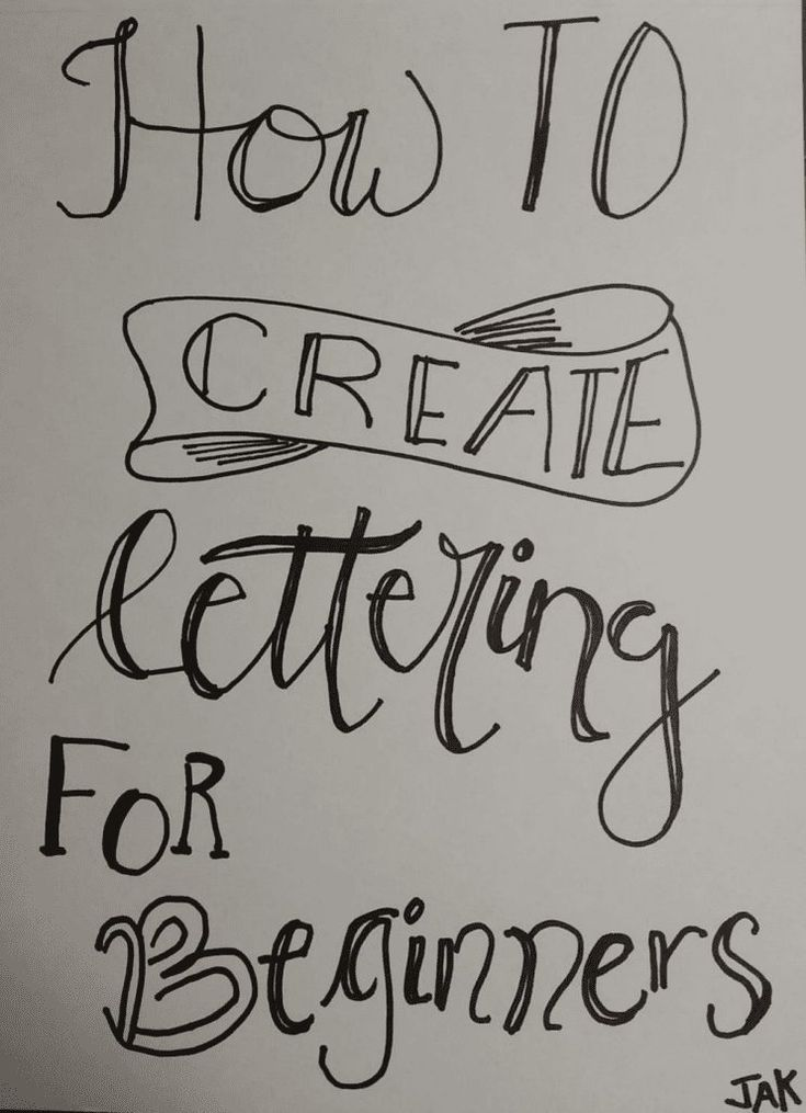 How To Create Simple Lettering for Beginners - His Unmeasured Grace