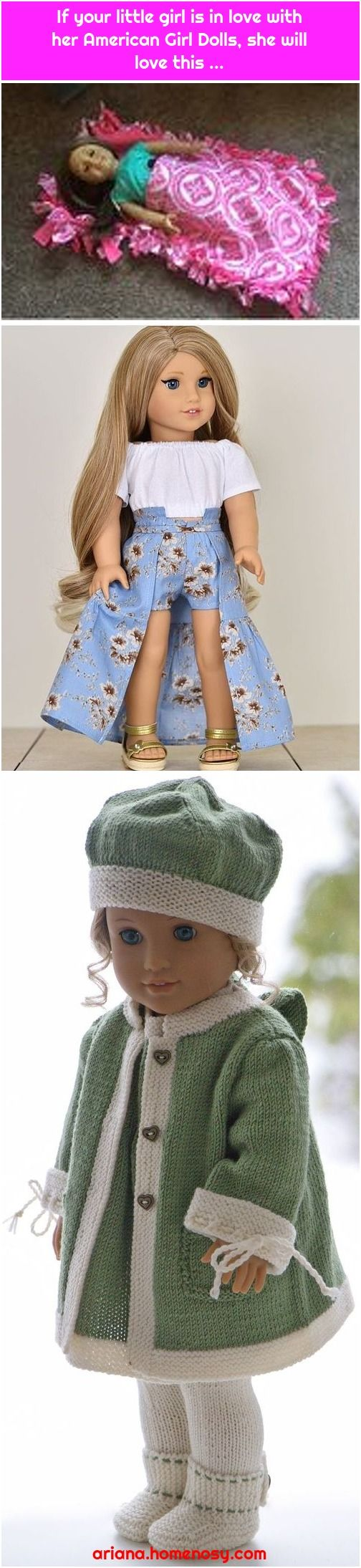If your little girl is in love with her American Girl Dolls, she will love this ...
