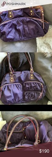 MZ Wallace Kate bag in Plum EUC - Lightweight and extra roomy, with plenty of po...