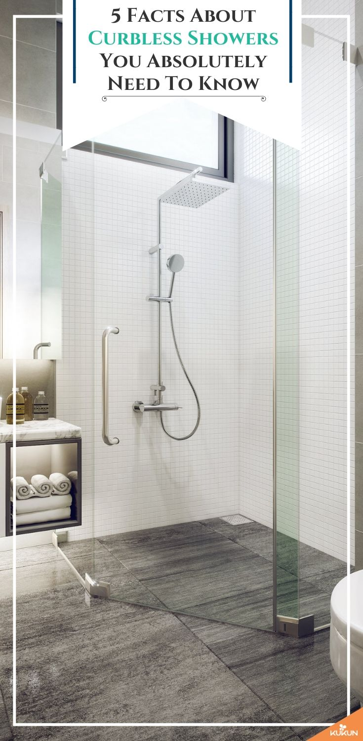 One Level Curbless Shower: 5 facts You Need To Know