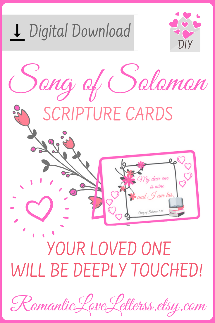Romantic Love Quotes (Song of Solomon Bible Verses about love)