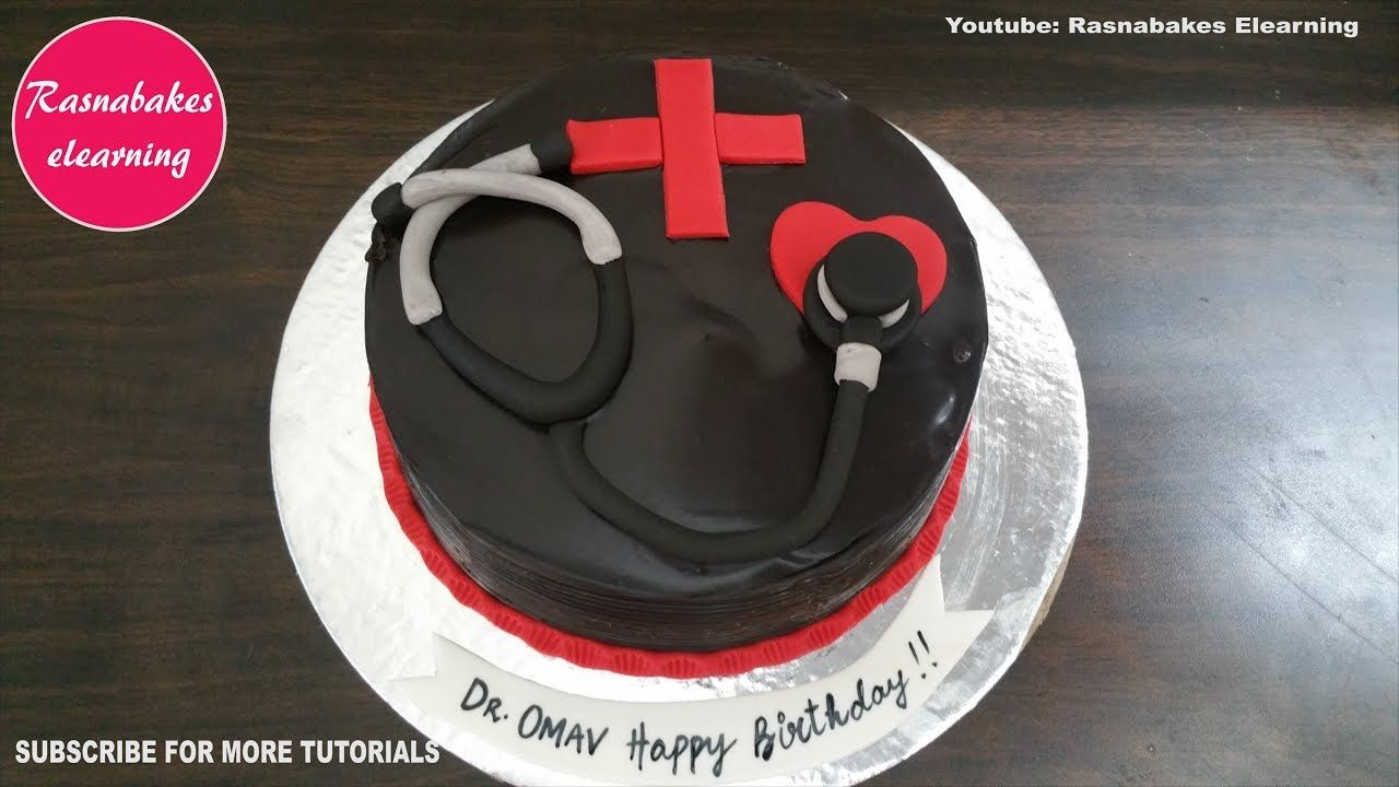 happy birthday wishes doctor cake design ideas decorating classes courses tutorial video at home
